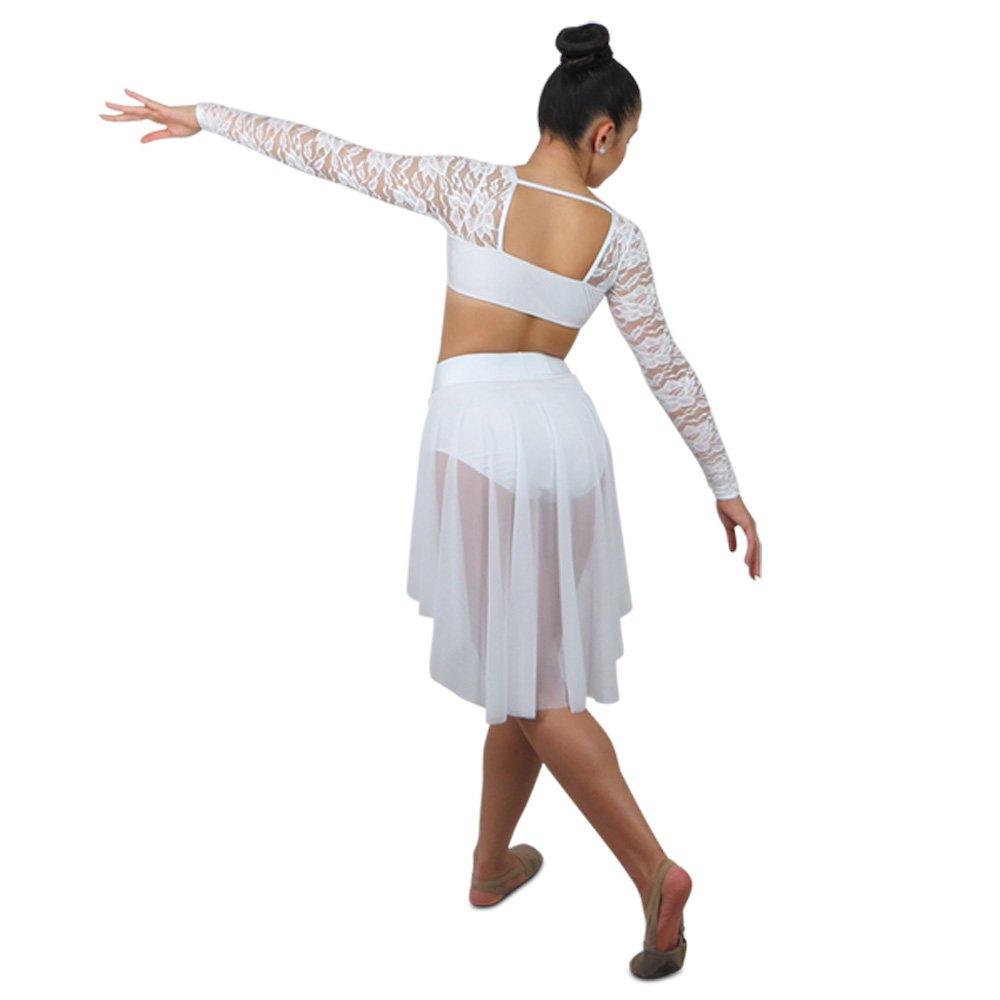 Romantic Lyrical Dance Costume - Black Sapphire Design