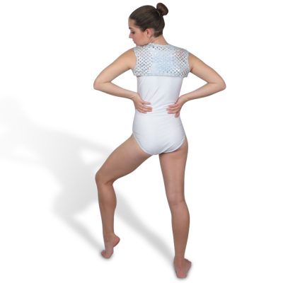 hologram laser cut bolero jacket to coordinate with your fave leotard