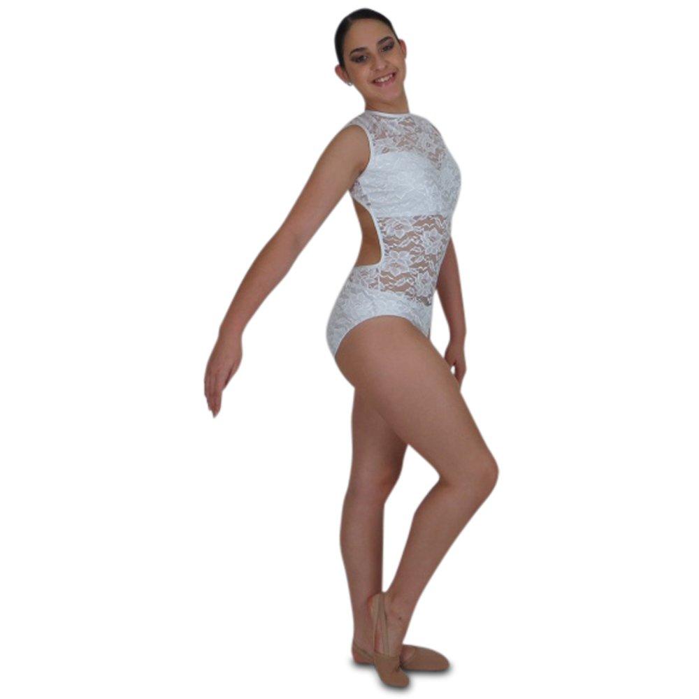 8e1eaade3 Lace Sleeveless Leotard - Black Sapphire Design