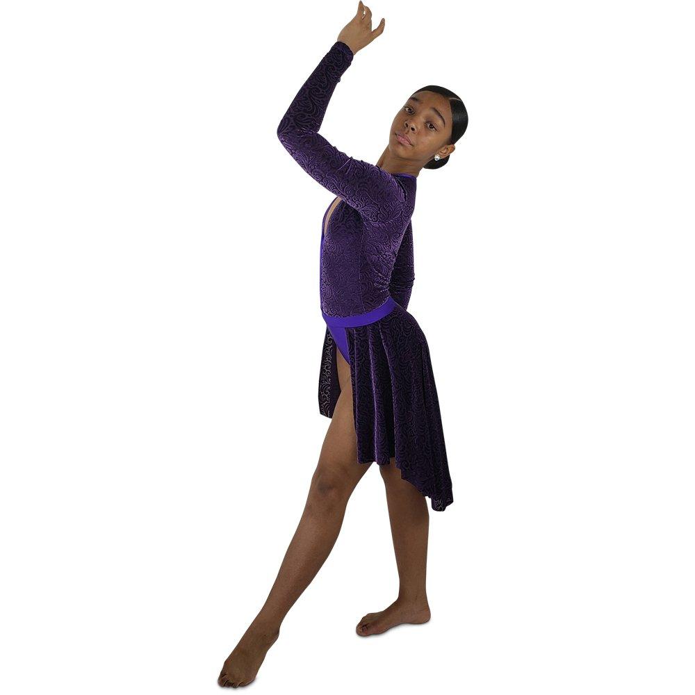 velvet-dance-bustle-skirt