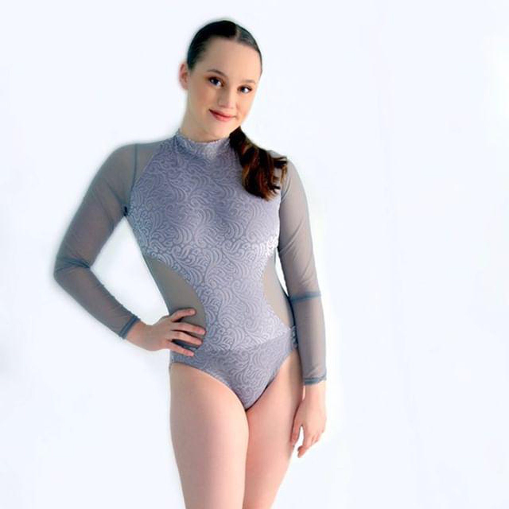 Long Sleeve Velvet Leotard website