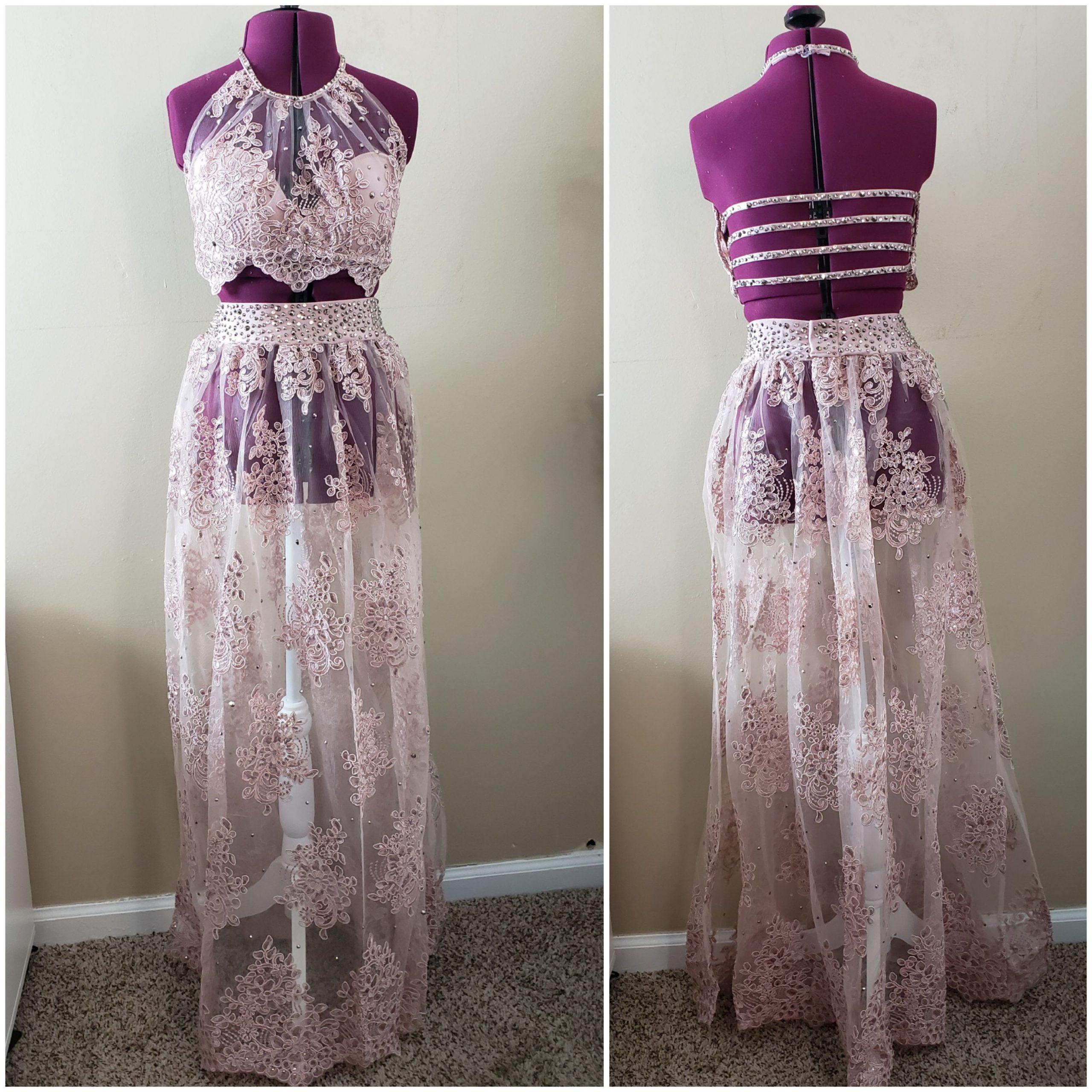 dusty rose costume rhinestones1