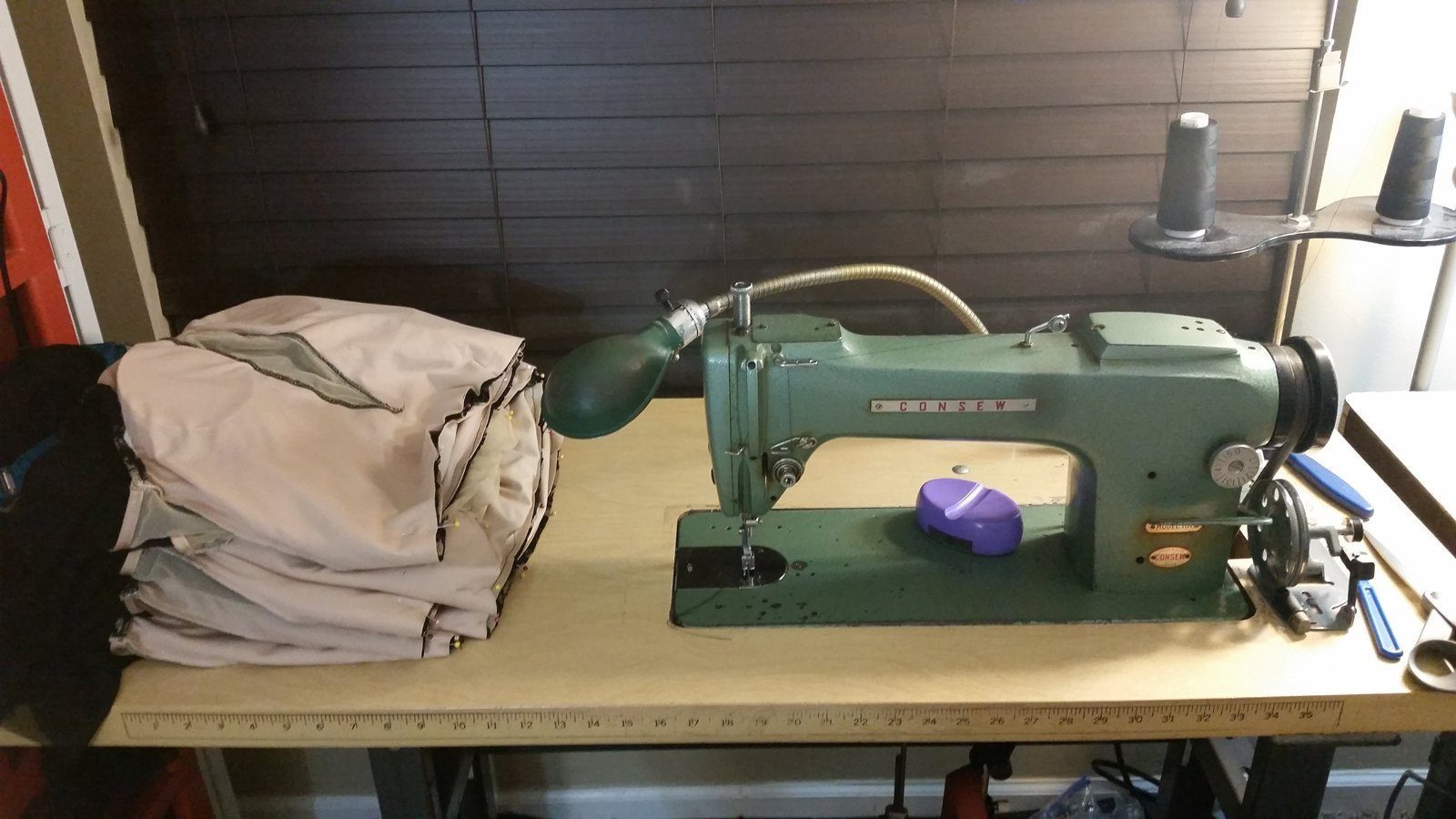 Sewing Leotard Bodices on my Trustiest Machine